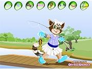 Кошка рыболов