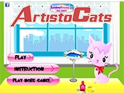 Кошка артистка