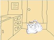 Кот охранник