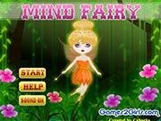 Маленькая фея и цветы