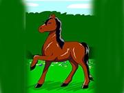 Породистая  лошадка