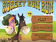 Занимаемся бегом с лошадкой