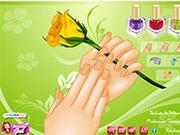 Красивая Роза в руках