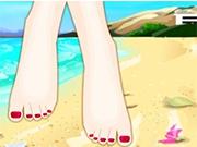 Твои ножки на пляже