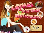 Модный Западный ресторан