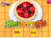 Вкусный Пирог с ягодками
