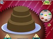 Большой любимый торт