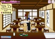 Крутая Официантка суши-бара