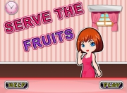 Шведский стол с фруктами