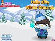 Гуляем зимой с Китти