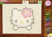 Красивая Вышивка хэлоу Кити