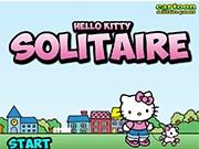 Поиграй с Китти в солитер