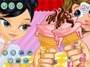 Едим Мороженое на брудершафт