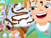 Делаем Букет из мороженого