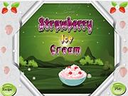 Вкусное Клубничное мороженое