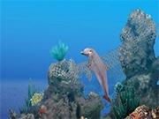 Помоги дельфину