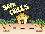 Помоги спасти цыплят