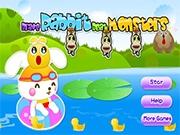 Кролик в пруду