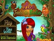 Лиза и ее птички