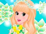 Принцесса с цветами