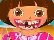 Даша ухаживает за зубами