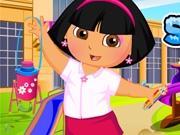 Даша идет в школу