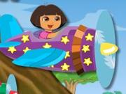 Даша летает на самолете