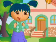 Даша отправляется в школу