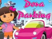 Даша учится парковать автомобиль
