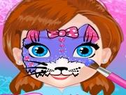 Рисунки на лице для Анны