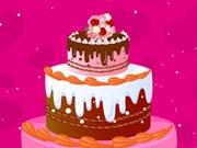 Украшаем свадебный торт