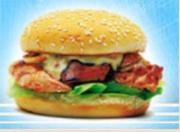 Куриный бургер