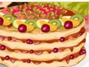 Украшение вкусного десерта