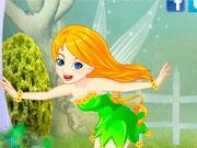 Счастливая цветочная фея