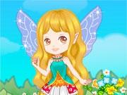 Маленькая цветочная фея