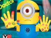 Сильня травма руки Миньона