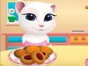 Говорящая Анжела: Печенье с джемом