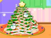 Пряничный торт-елочка