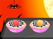 Капкейки-пауки на Хэллоуин