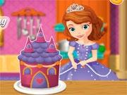 Торт-замок принцессы Софии