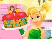 Тинкербелл готовит торт