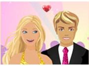 Поцелуй Барби и Кена
