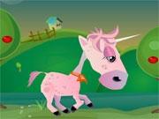 Гонка забавных лошадок