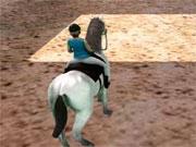 Прыжки на лошади 3D