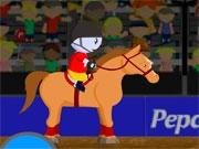 Лошадь на цирковой арене