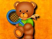 Мишка-теннисист