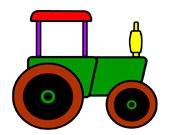 Трактор фермера