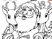 Санта Клаус с помошниками