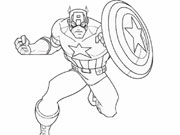 Отважный капитан Америка