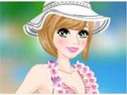 Барби на пляже